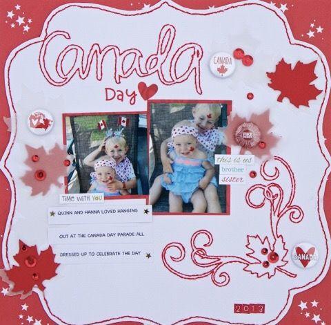 Canada layout by Lee-Ann Thornton