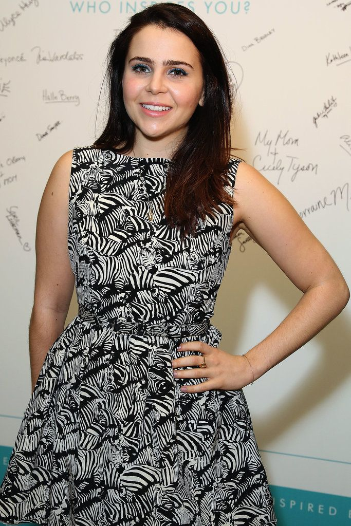 Mae Whitman-she's 5'1. I love finding short celebrities!