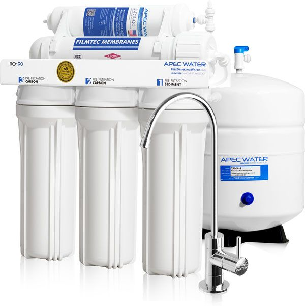Apec Water Ultimate Series Under Sink Reverse Osmosis Drinking