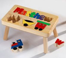 My Step Stool - Train Puzzle Name Stool $49.99 (// & 35 best Puzzle Step Stools images on Pinterest | Step stools ... islam-shia.org