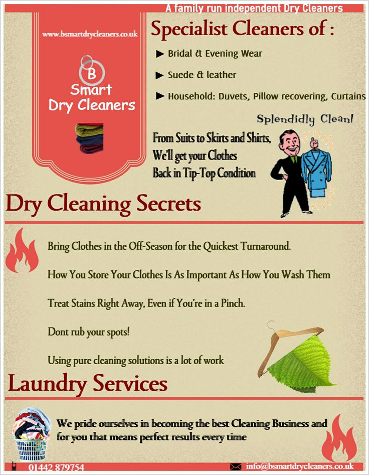 A Dry Cleaning Process Provides Methods For Removing Unwanted Materials  From All Types Of Clothes To