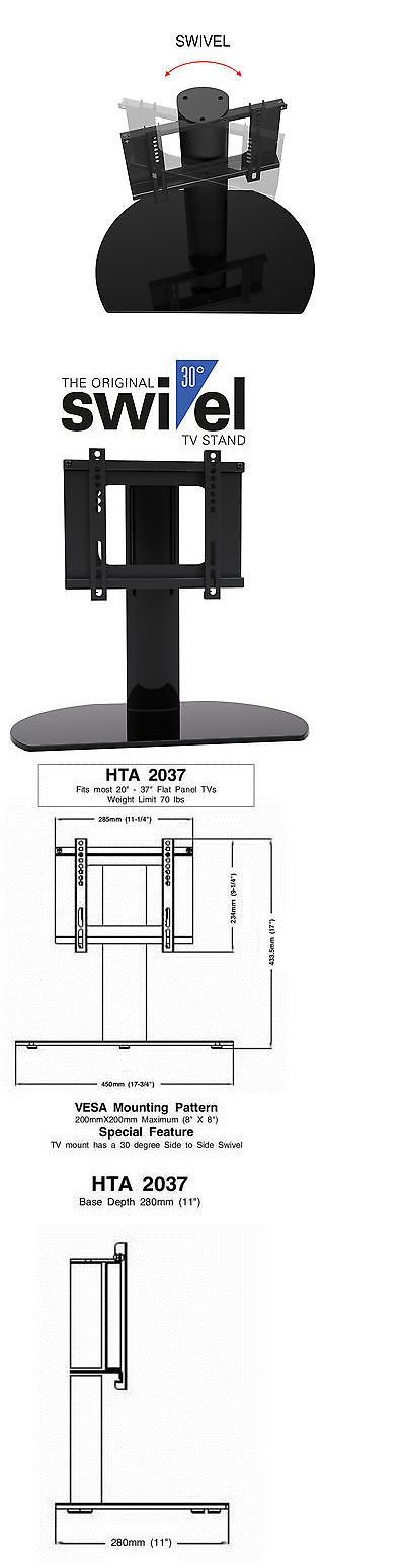 TV Mounts and Brackets: Universal Replacement Swivel Tv Stand Base Fits Most Pioneer 20 -37 Lcd Led Tv -> BUY IT NOW ONLY: $49.95 on eBay!