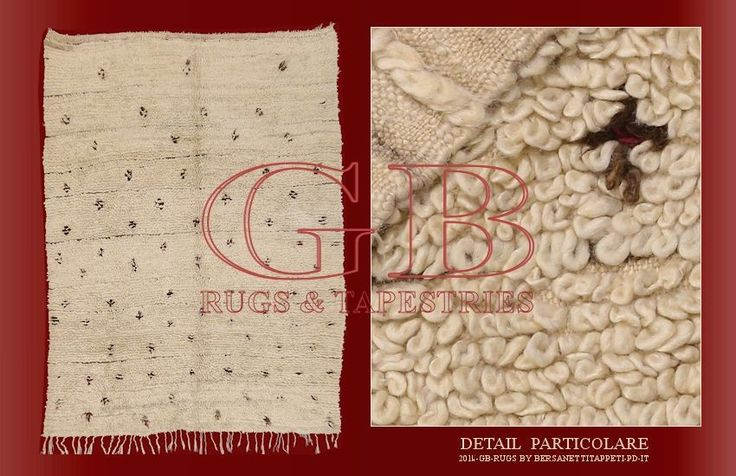 Old Beni Ourain, old Berber rugs_141435137344