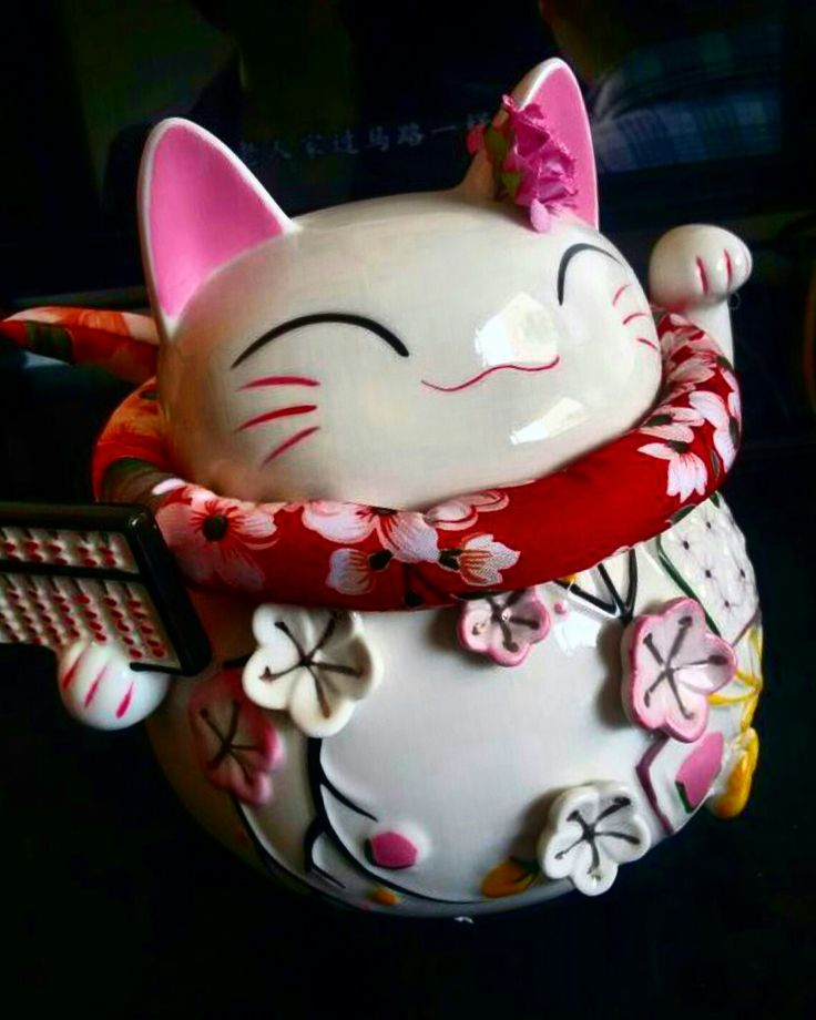 maneki-neko/lucky cat is available at Department Golden Pineapple Please PM/emails us for further info