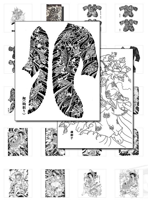 Japanese Tattoos 400 designs in total from Horicho to Demons, to Japanese Heros!  http://payspree.com/1139/satelitetv