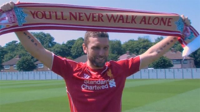 Rickie Lambert joins Liverpool in £4.5m move from Southampton | Football | theguardian.com