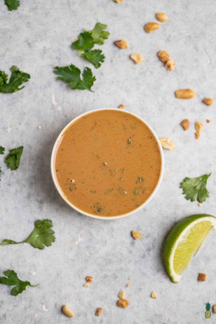 How to Make Perfect Peanut Sauce
