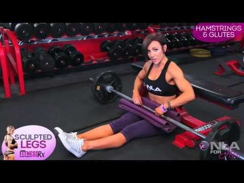 """Sculpted Leg Video 2 - Hamstrings & Glutes: This is the first time i hear about """"kneeling squat""""!"""