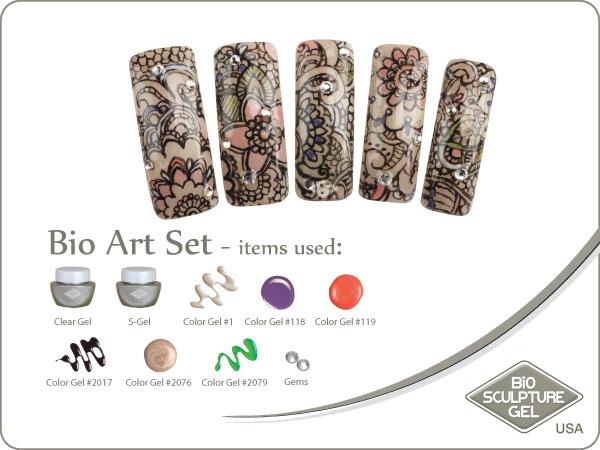 Henna art set