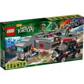 LEGO Teenage Mutant Ninja Turtles Big Rig Snow Getaway 79116 $150