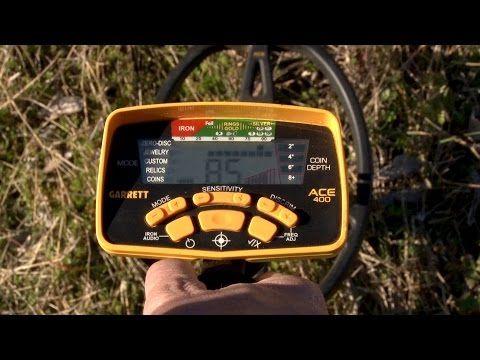 Detektor kovů ACE 400i včetně Z-LYNK a příslušenství - Hobby detektory | Garrett.cz