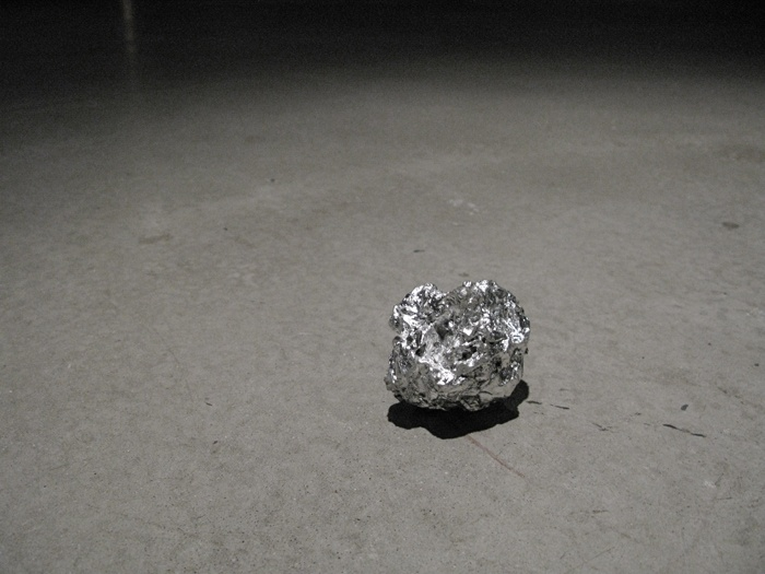Bronze Tin Foil Ball, Kelly Lycan