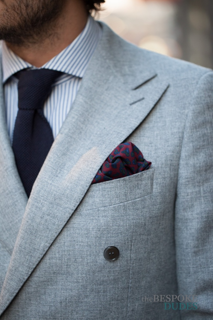 Cargo & Double Breasted Jacket ~ The Bespoke Dudes by Fabio Attanasio