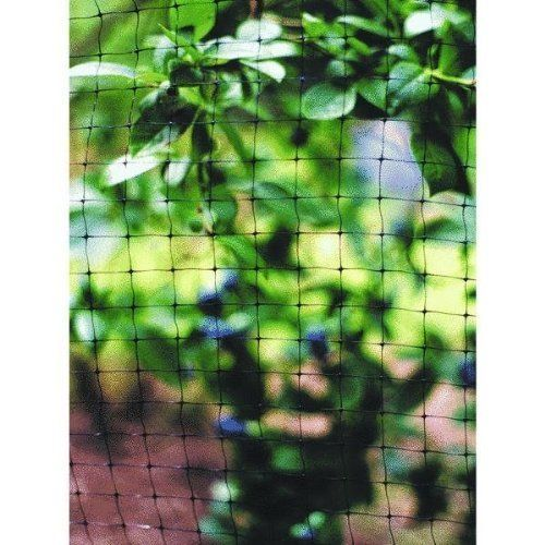Tenax Corporation 601906 All-Purpose Net by Tenax. $26.64. Lightweight visually unobtrusive net ideally suited to protect a wide range of fruits and vegetables from birds. Its versatile nature also makes it an ideal cover for small garden ponds, protecting ornamental fish from predatory birds and keeping fall leaves out of the water. Black. 7' x 100' with mesh size of .75 x .75.