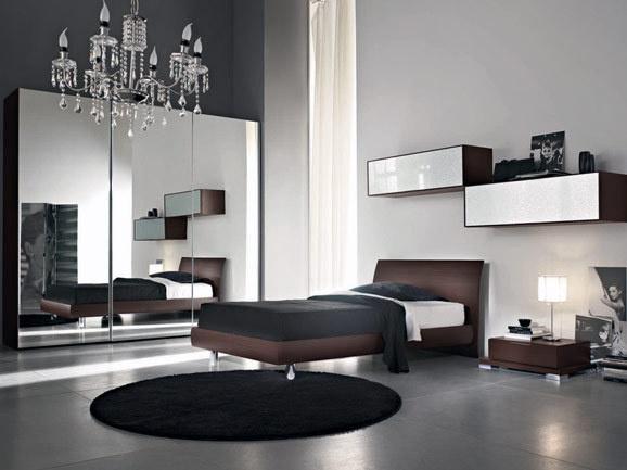Camera Da Letto Moderna Rovere Moro : Oltre fantastiche idee su camere da letto marrone
