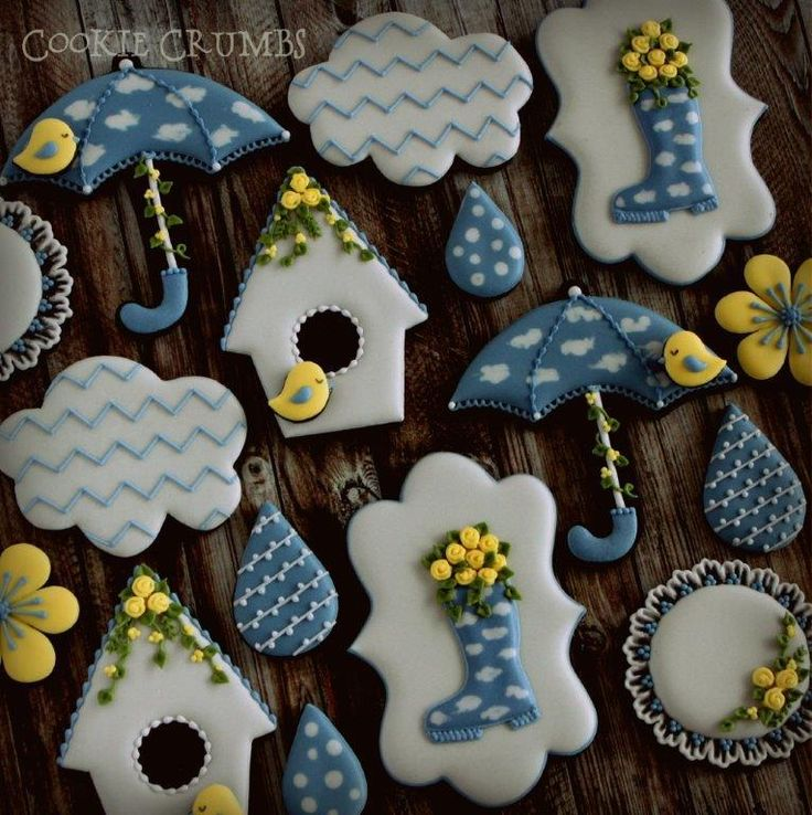 Rainy days cookies | Cookie Connection