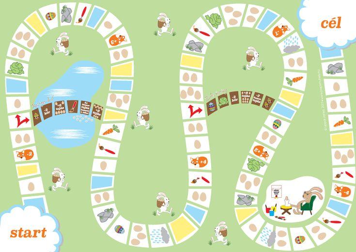 Húsvéti társasjáték és színező – Papírműhely