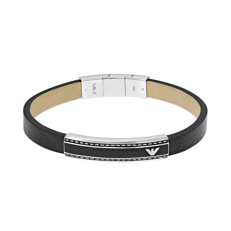 Emporio Armani Armband für Herren EGS1923040 mit Gravur aus der Serie Herren hier online bestellen