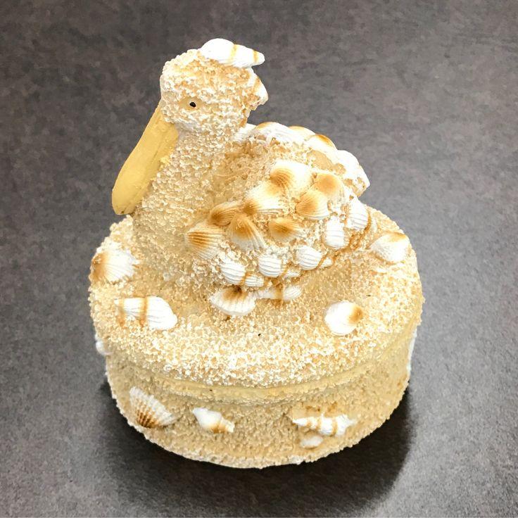 Ceramic Pelican Box