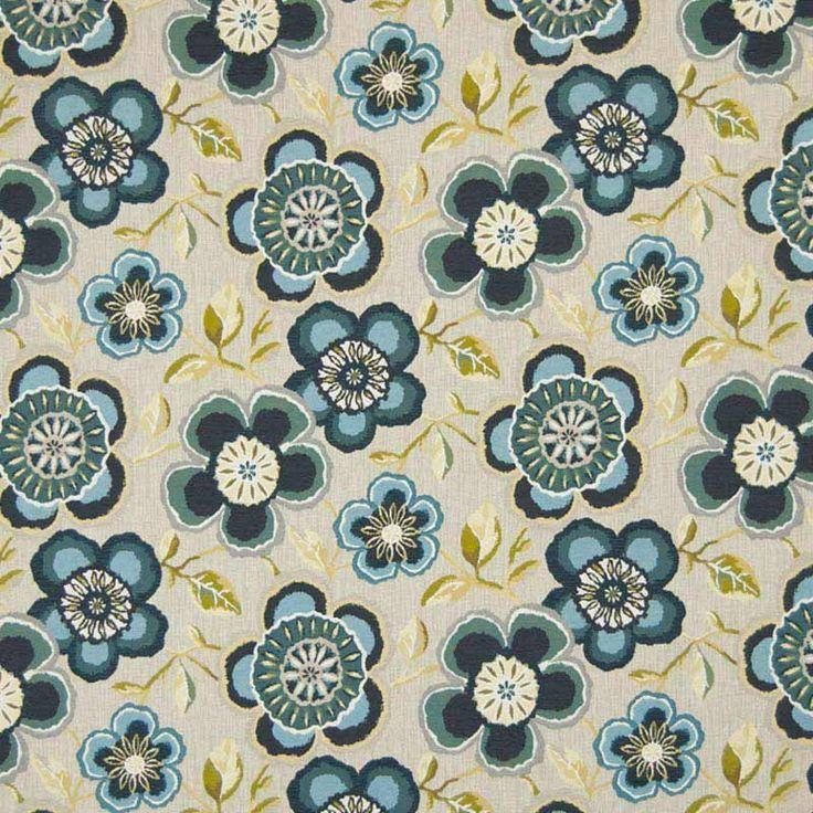 Warwick Fabrics : CALEDONIA, Colour ATOLL