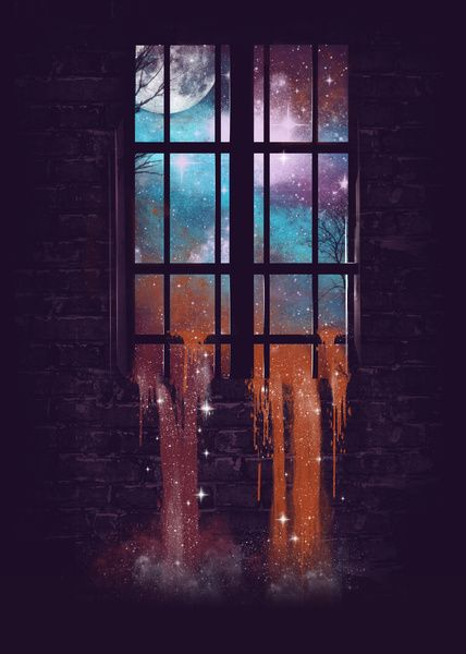 Let the Stars Flow Into You V.2 Art Print by Dan Elijah G. Fajardo | Society6