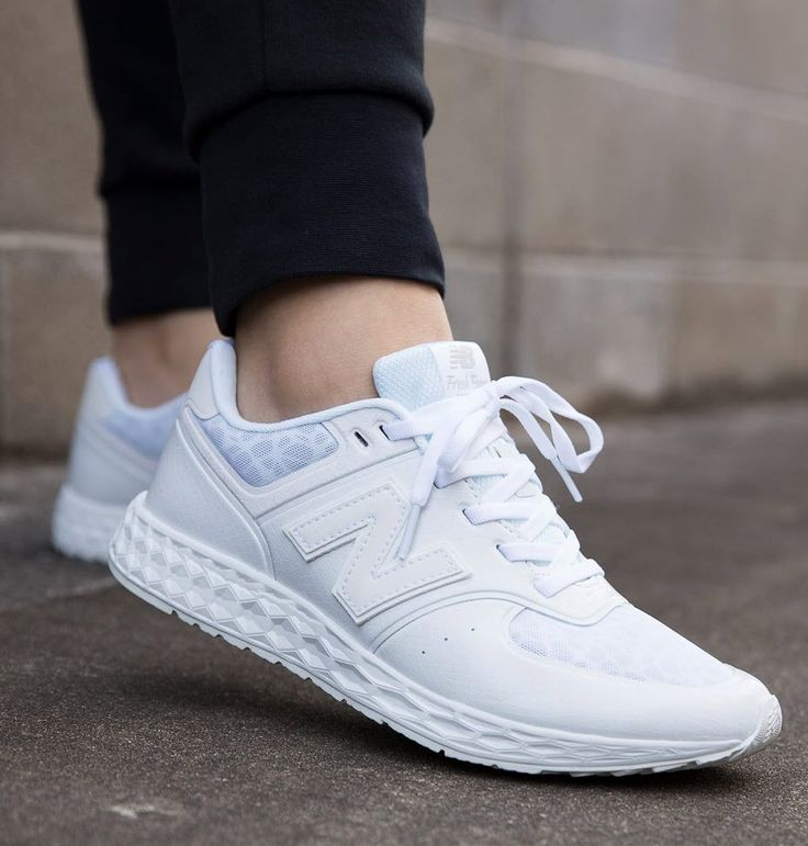 New Balance 574 Fresh Foam: White