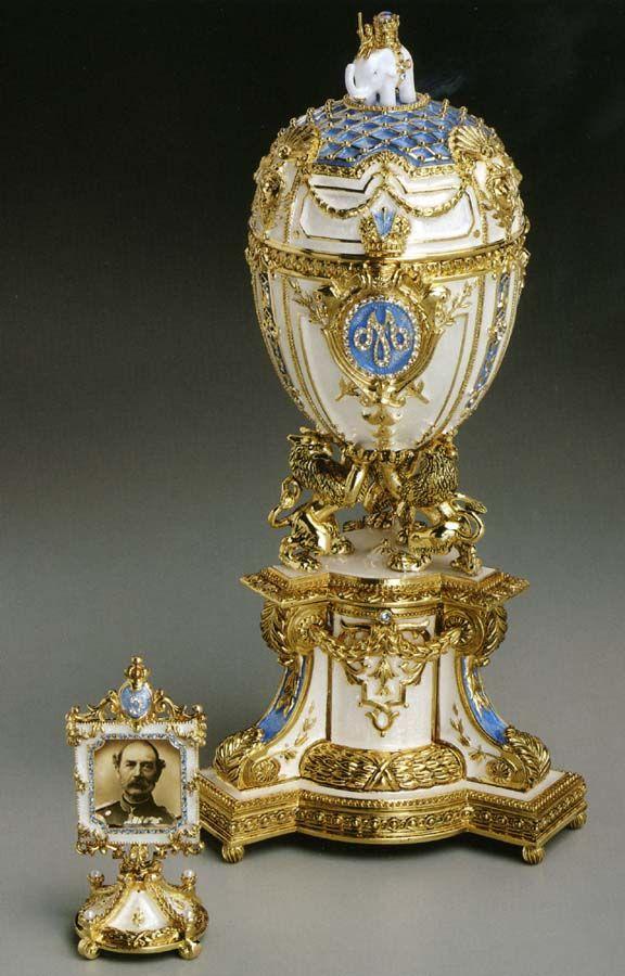 Imperial Danish Jubilee Egg - 1903