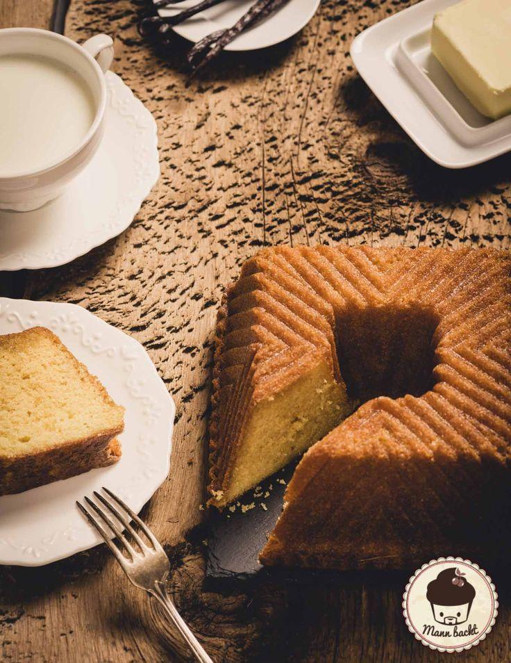 Kentucky Butter Bundt Cake -typisch amerikanischer Buttermilch Gugelhupf mit feinem Butteraroma