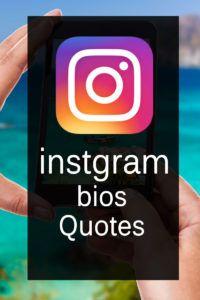 Instagram Bio Quotes  Short Instagram Status and Captions