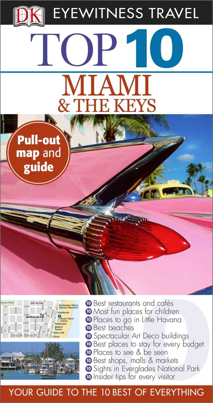 DK Eyewitness Travel Guides: the most maps, photography, and illustrations of any guide. DK Eyewitness Travel Guide: Top 10 Miami and the Keys is your pocket guide to this exciting city and island cha