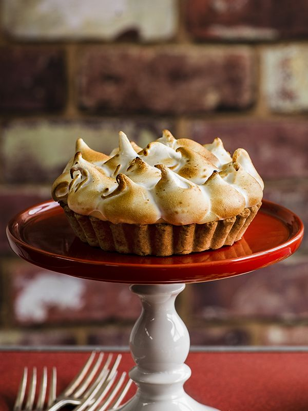 This recipe for lemon s'mores meringue pie comes from Dan Doherty of ...