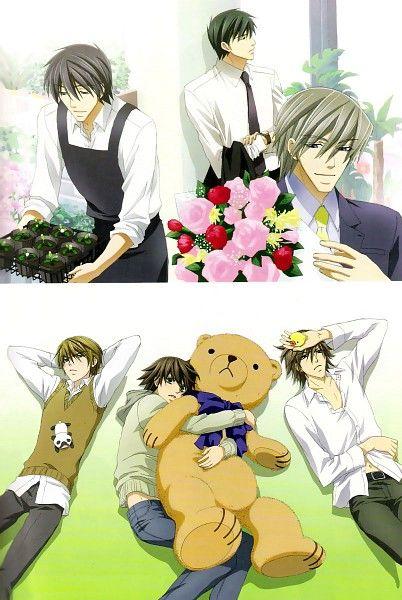 Junjou Romantica #yaoi #cute