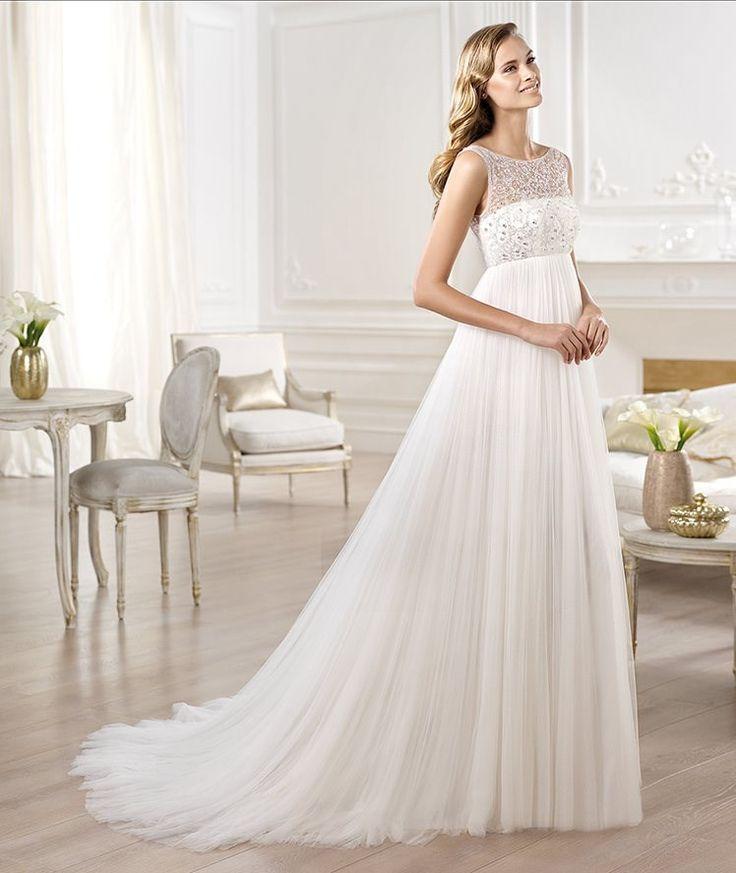 Vestido de novia modelo Ores de Pronovias Vestidos de novia para embarazadas Vestido modelo Ores de