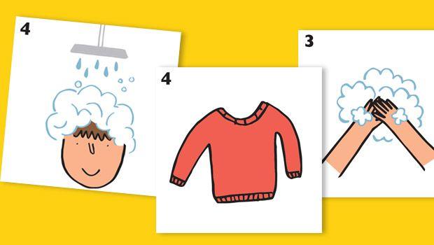Retrouvez dans ce billet des séquences de pictogrammes décomposéesétape par étape pour faciliter les gestes du quotidien tel que : aller aux WC se doucher s'habiller se laver les mains se brosser les dents Ces séquences sont à télécharger gratuitement à la fin de cet article. En voici quelques extraits :  Chaque séquenceest disponible …