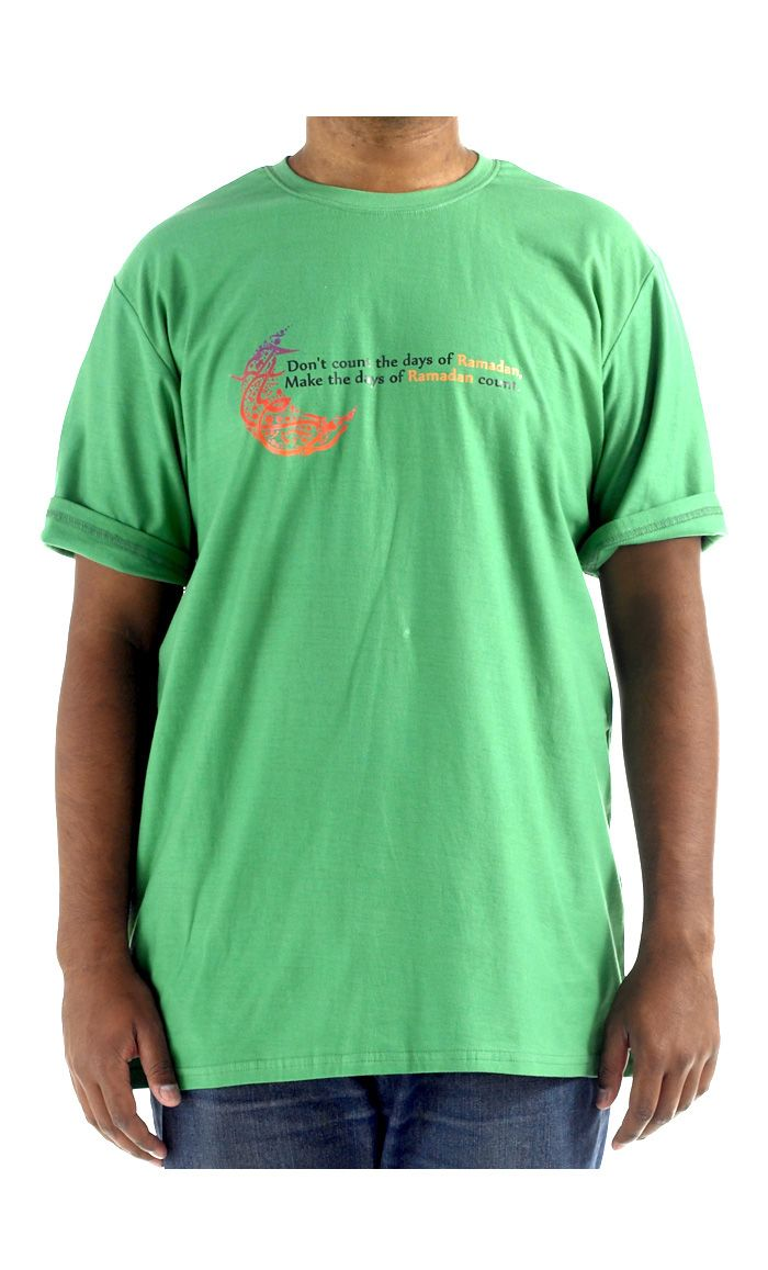 Ramadan Days.  100% cool comfortable cotton t-shirt.
