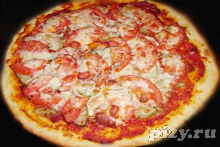 Итальянская пицца с шампиньонами рецепт