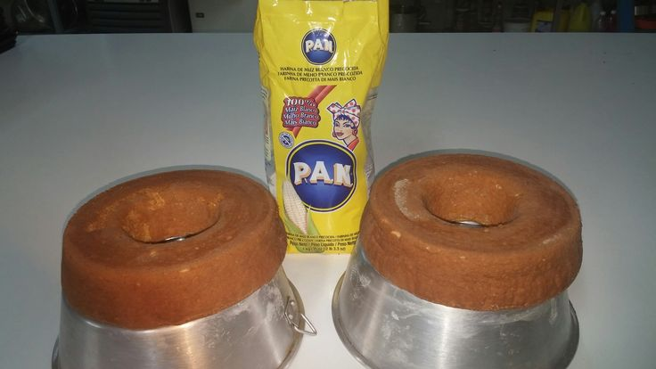 Bizcochon de harina pan