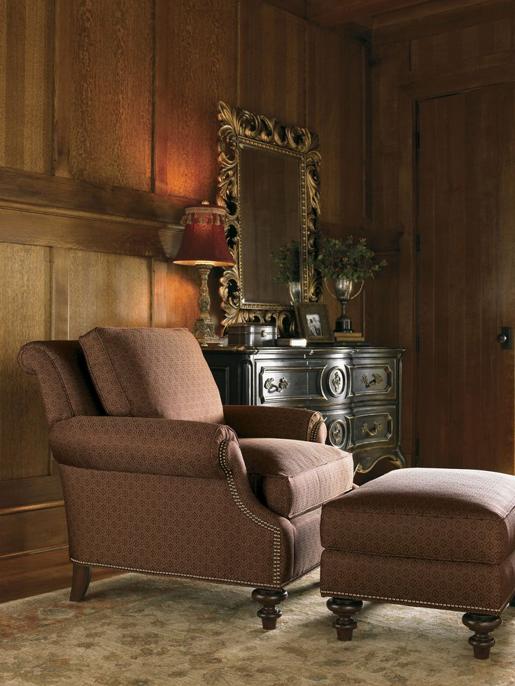Shop For The Lexington Lexington Upholstery Darby Chair And Ottoman At  Becker Furniture World   Your Twin Cities, Minneapolis, St.