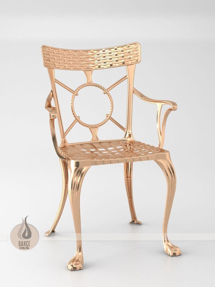 Komple Döküm Sandalye - BA-006
