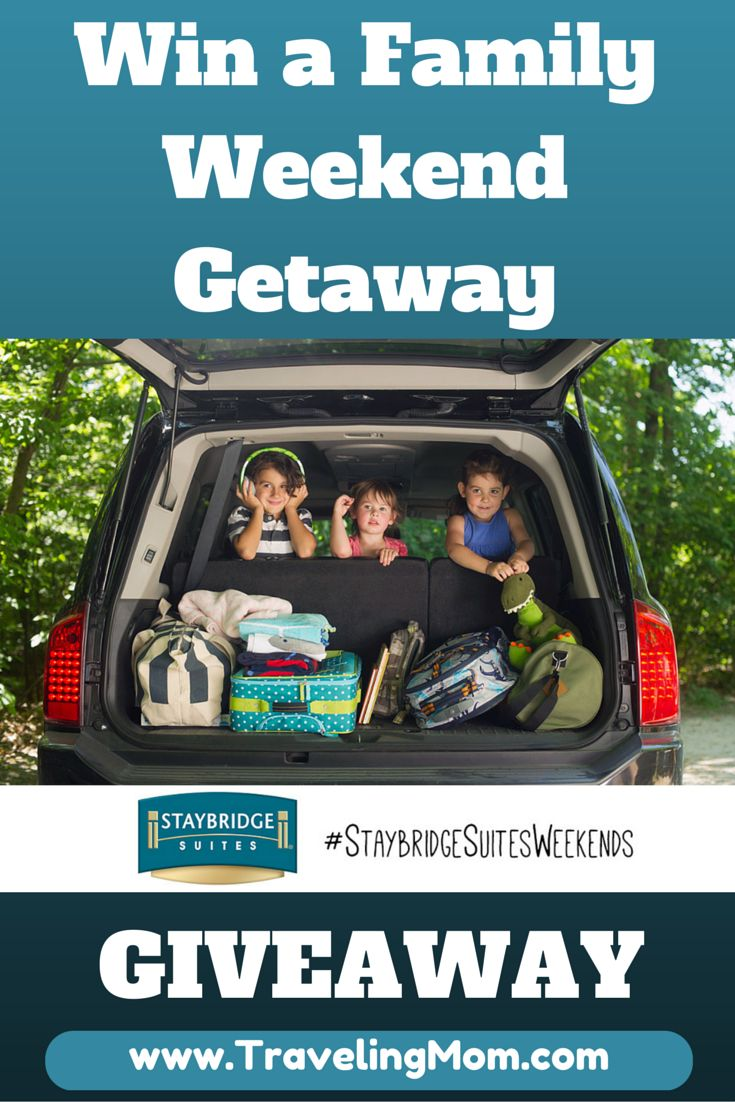 The Joy of Spontaneous Travel (and Winning a Family Weekend Getaway at a Staybridge Suites Property) {sponsored}