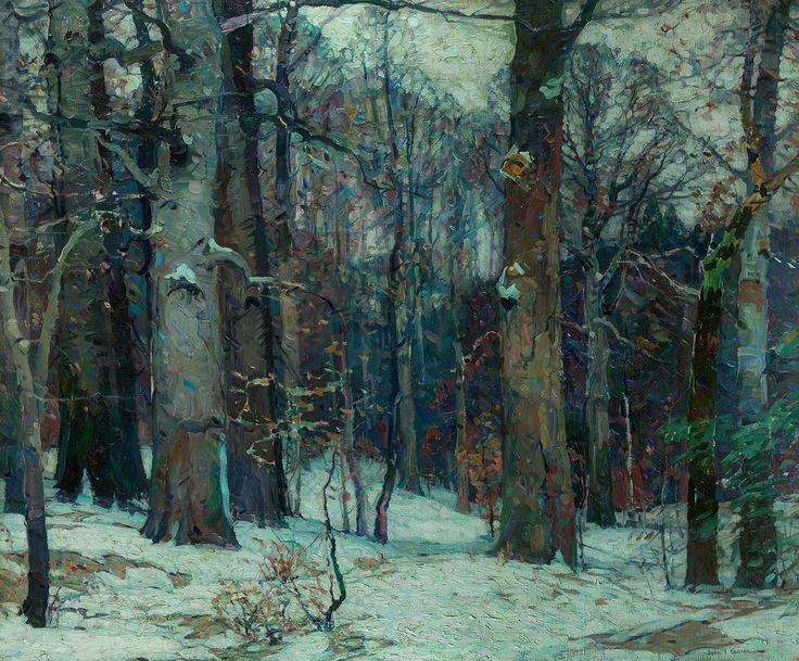Forest Silence 1, john fabian carlson