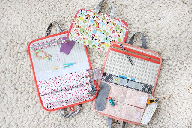 Road Trip Case Pattern (perfect for rainbow loom storage, art supplies, sewing on the go, etc!)