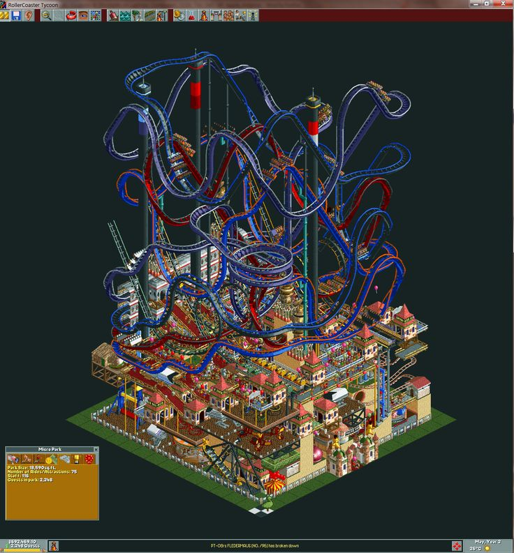 Crazy Roller Coaster Tycoon