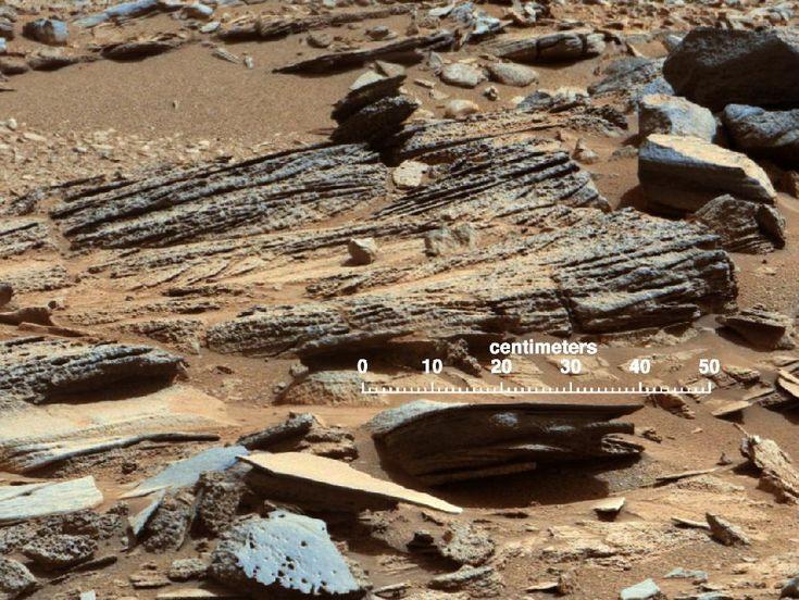 NASA - 'Shaler' Unit's Evidence of Stream Flow from mars rover curosity