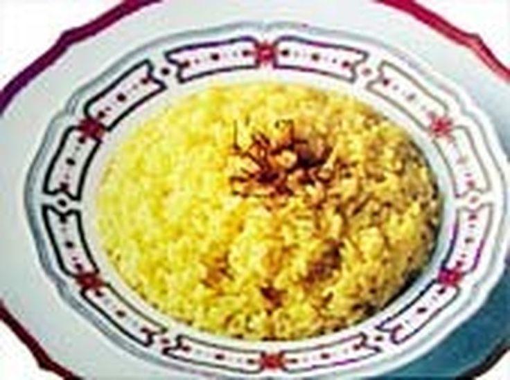 Riz pilaf au miel et curry