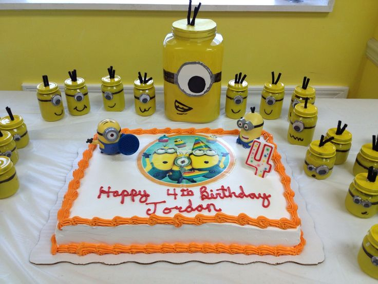 26 best Paytons 3rd Birthday Minions images on Pinterest