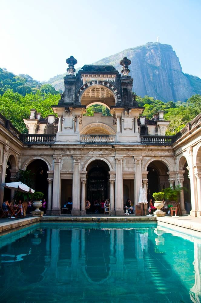 Parque Lage, Rio de Janeiro, Brasil. Book your trip to Brazil for the 2016 Olympics on www.click2xscape.com