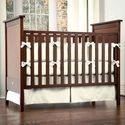 Ecru Crib Bumper | Solid Ecru Off-White Crib Bumper | Carousel Designs