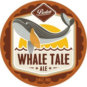 Whale Tale Ale - There's a hint of caramel when you inhale this approachable Ale. #BostonBreweries #CraftBeer