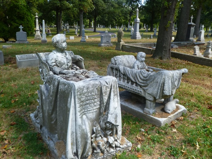 Child graves are always the hardest for me. But to see the devotion that loved ones put forth into these pieces of tribute to them says alot. The child leaping from his wheelchair remains my favorite. Calvary Cemetery, St Louis, MO